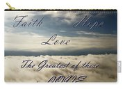 Faith Hope Love Carry-all Pouch