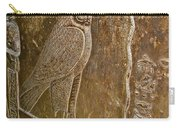 Falcon Symbol For Horus In A Crypt In Temple Of Hathor In Dendera-egypt Carry-all Pouch