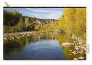 Fall Along River Sierra Ancha Carry-all Pouch