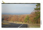 Fall Along The Country Highway 2 Carry-all Pouch
