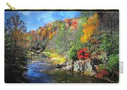 Fall Along The Linville River Carry-all Pouch