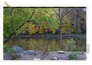 Fall Along The Scioto River Carry-all Pouch