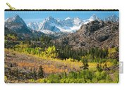Fall Aspen Below The Sierra Crest Carry-all Pouch