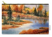 Fall At Elk Island  Carry-all Pouch