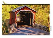 Fall At Kurtzs Mill Covered Bridge Carry-all Pouch