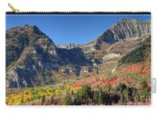 Fall At Mt. Timpanogos From Sundance - Utah  Carry-all Pouch