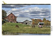 Fall At The Horse Farm Carry-all Pouch