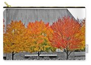 Fall At The Mann Carry-all Pouch