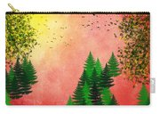 Fall Autumn Four Seasons Art Series Carry-all Pouch