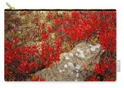 Fall Blueberries And Moss Carry-all Pouch
