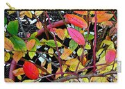 Fall Blueberry Bush Carry-all Pouch