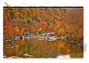 Fall Brilliance At New River Carry-all Pouch