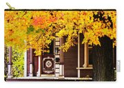 Fall Canopy Over Victorian Porch Carry-all Pouch