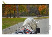 Fall Carriage Ride Carry-all Pouch