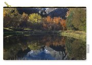 Fall Color And Reflection Below Middle Palisades Glacier California Carry-all Pouch