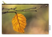 Leaf In Fall Color Carry-all Pouch