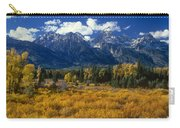 Fall Color Tetons Blacktail Ponds Grand Tetons Nationa Carry-all Pouch