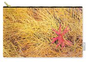 Fall Colored Horsetail And Fireweed  Carry-all Pouch