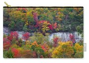 Fall Colors Along Tanasee Road Carry-all Pouch