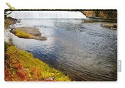 Fall Colors And Waterfalls Carry-all Pouch