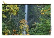 Fall Colors Frame Multnomah Falls Columbia River Gorge Oregon Carry-all Pouch