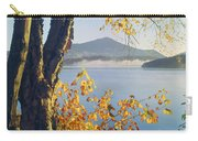 Fall Colors Frame Whiteface Mountain Carry-all Pouch