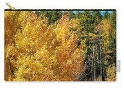 Fall Colors On The Colorado Aspen Trees Carry-all Pouch