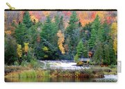 Fall Colors On The  Tahquamenon River   Carry-all Pouch