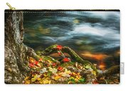 Fall Colors Stream Great Smoky Mountains Painted  Carry-all Pouch
