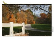 Fall Comes To The Hollow Carry-all Pouch