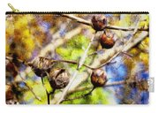 Fall Crepe Myrtle Carry-all Pouch