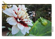 Fall Dahlia Carry-all Pouch
