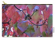 Fall Dogwood Leaf Colors 2 Carry-all Pouch