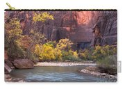 Fall Foliage Along The Virgin River Carry-all Pouch