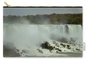 Fall Foliage At American Falls Panorama Carry-all Pouch