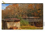 Fall Foliage At Meems Bottom Bridge Carry-all Pouch