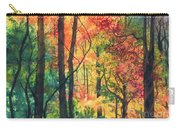Fall Foliage Carry-all Pouch by Barbara Jewell