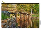Fall Foliage Over The North Bridge Carry-all Pouch
