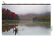 Fall Foliage Reflections In Northern Vermont Carry-all Pouch