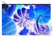 Fall Gourds Blues Carry-all Pouch