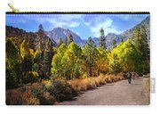 Fall Hiking In The High Sierras Carry-all Pouch