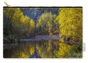 Autumn Reflections In Fort Mcmurray Carry-all Pouch