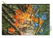 Fall Ivy On Pine Tree Carry-all Pouch