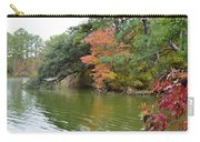 Fall Landscape Around The Lake 2 Carry-all Pouch