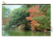 Fall Landscape Around The Lake 5 Carry-all Pouch