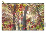 Fall Laser Beams Carry-all Pouch