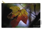 Red And Yellow Maple Leaf Carry-all Pouch