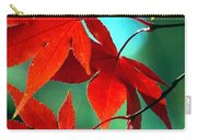 Fall Leaves In All Their Glory Carry-all Pouch