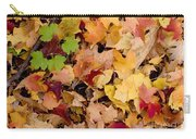 Fall Maples Carry-all Pouch by Steven Ralser