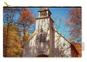 Fall Morning At Palmer Chapel In Cataloochee Carry-all Pouch